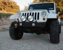 MFES-JK C1-S Jeep JK Wrangler Aluminum Front Stubby Bumper
