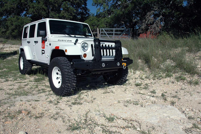 MFES-JK C5 Jeep JK Wrangler Aluminum Front Bumper