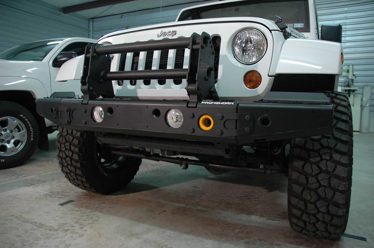 Best Bumper For Jeep Jk : Pronghorn alpha a t c jeep wrangler front bumper