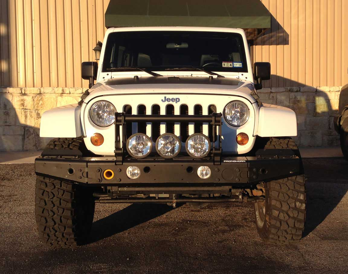 2012 Jeep Wrangler >> Pronghorn Alpha A/T C2 Jeep Wrangler Front Bumper
