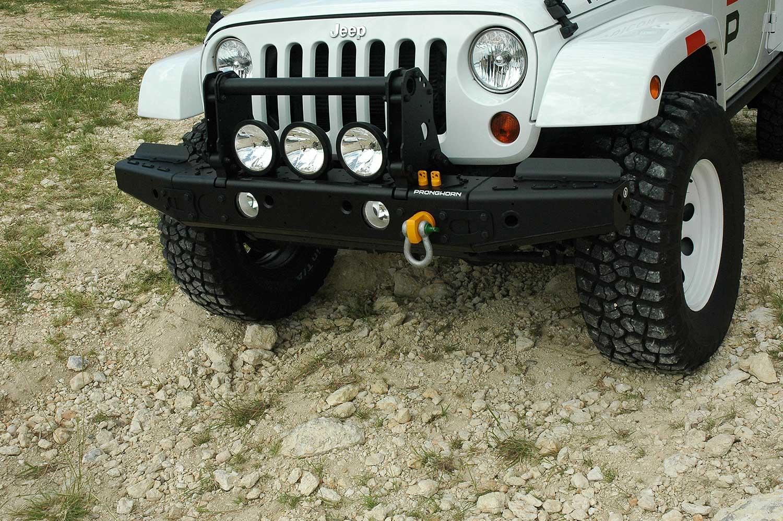MFES-JK C2 Jeep Wrangler Aluminum Front Bumper