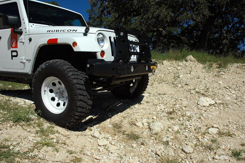 MFES-JK C7 Jeep JK Wrangler Aluminum Front Bumper