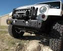 MFES-JK C2-S Jeep JK Wrangler Aluminum Front Stubby Bumper