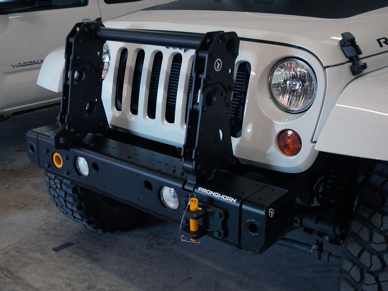 MFES-JK C4-S Jeep JK Wrangler Aluminum Front Stubby Bumper