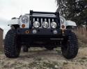 MFES-JK C5-S Jeep JK Wrangler Aluminum Front Stubby Bumper