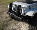 MFES-JK C6-S Jeep JK Wrangler Aluminum Front Stubby Bumper