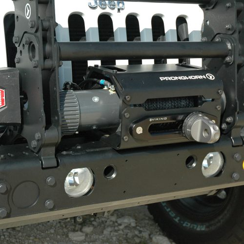 Top Mount Winch Case