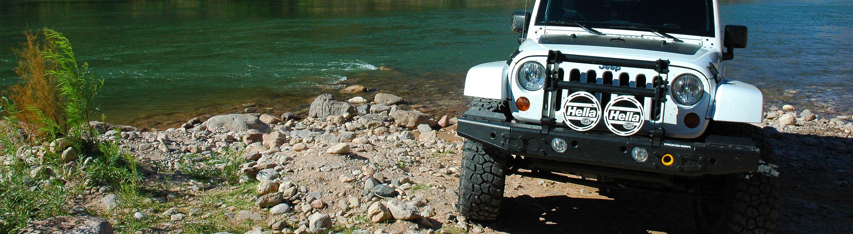 Pronghorn MFES-JK  Jeep Wrangler Aluminum Bumper