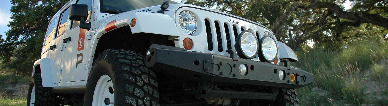 Pronghorn MFES-JK Jeep Wrangler JK Aluminum Bumper