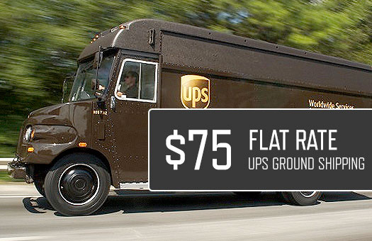 $75 flat rate shipping, ups ground, tacoma aluminum bumper