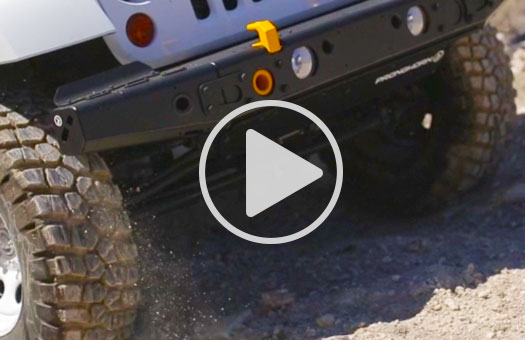 jeep jk aluminum bumper video, mfes-jk