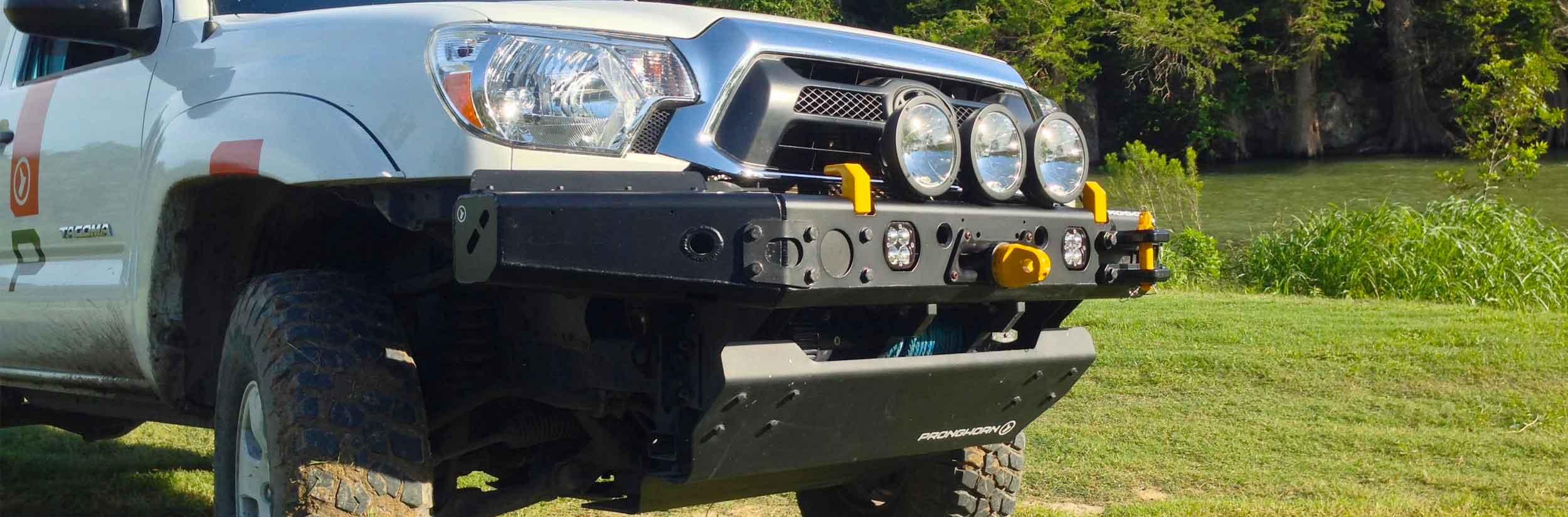 tacoma aluminum bumper mfes-c1